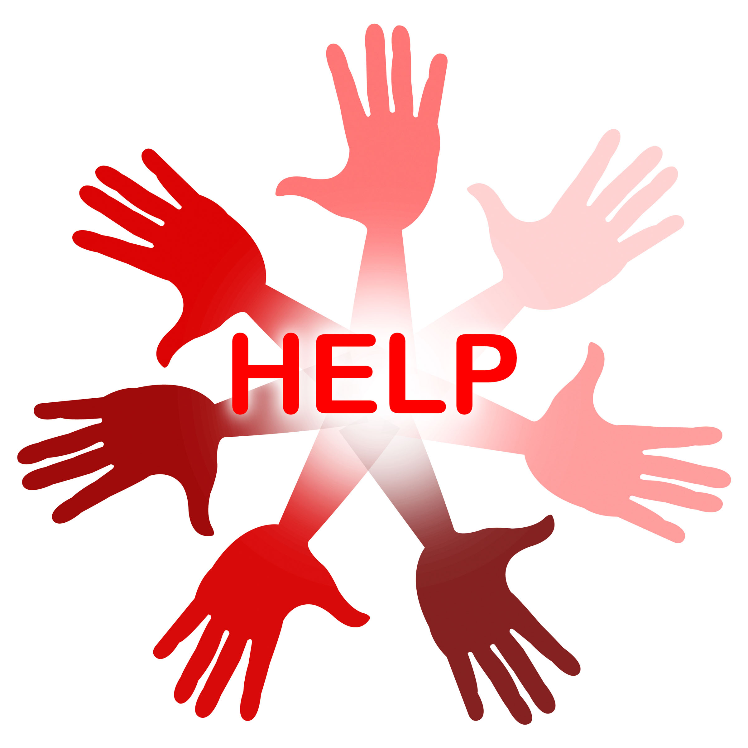 Hands Help Represents Question Human And Solution