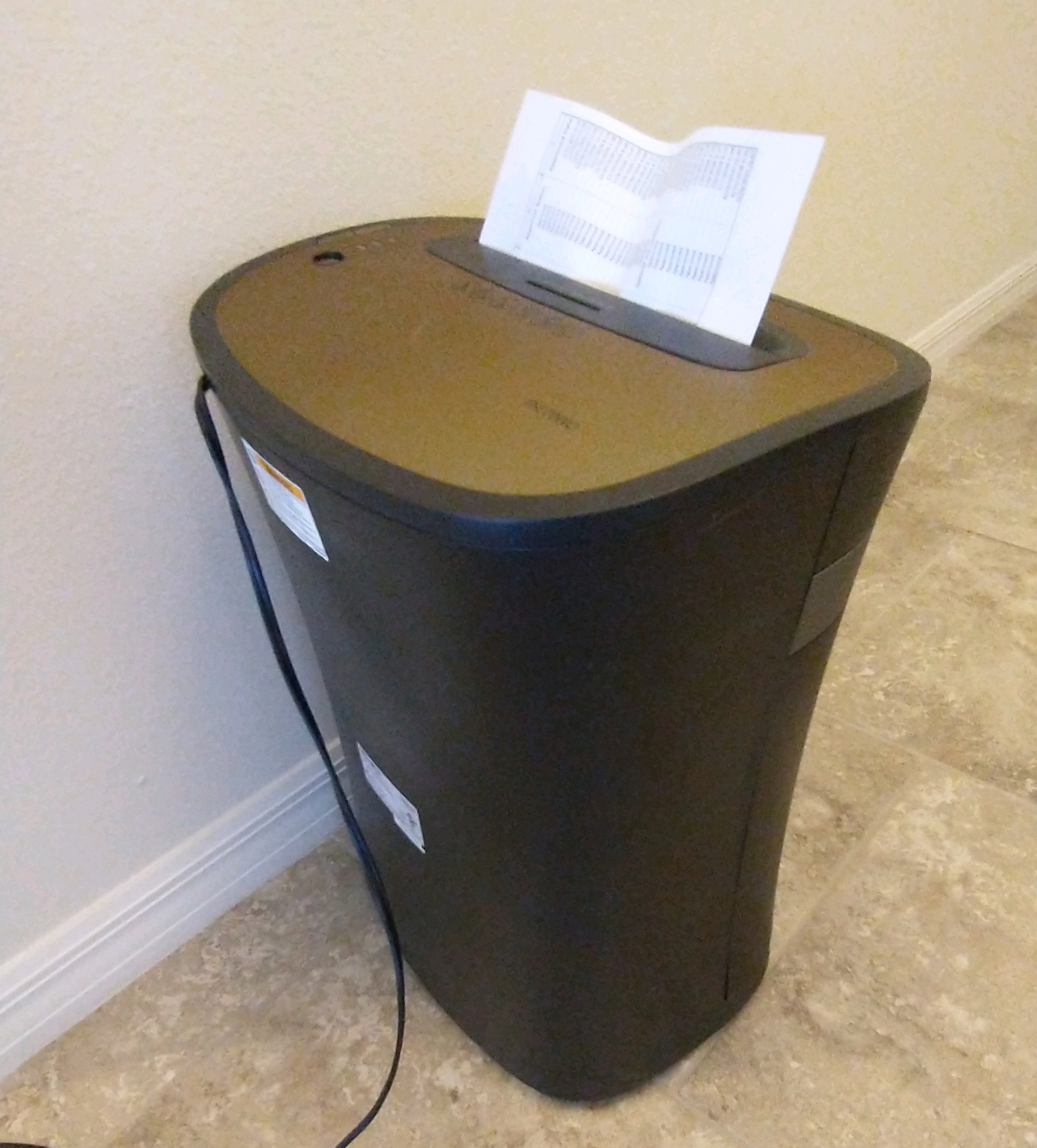 Capacity, Stress, and a Paper Shredder